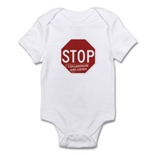 Stop Collaborate and Listen Infant Bodysuit