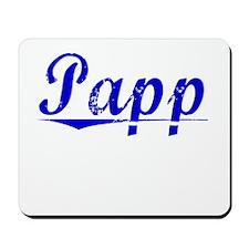 Papp, Blue, Aged Mousepad