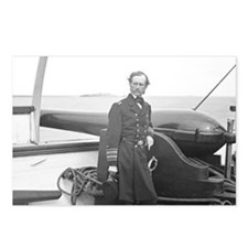 Rear Admiral Dalgren Postcards (Package of 8)