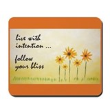 Live With Intention Mousepad