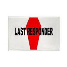 LAST RESPONDER Rectangle Magnet (10 pack)