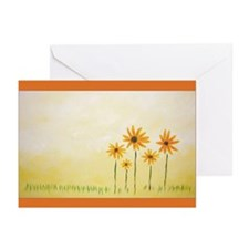 Flower Art Print Greeting Cards (Pk of 10)