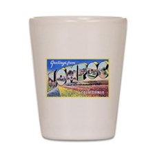 Lompoc California Greetings Shot Glass