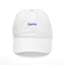 Quinlan, Blue, Aged Baseball Cap