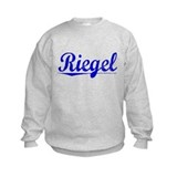 Riegel, Blue, Aged Sweatshirt