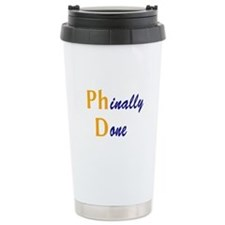 Phinally Done Ceramic Travel Mug