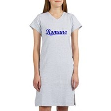 Romano, Blue, Aged Women's Nightshirt