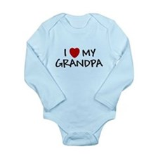 I LOVE MY GRANDPA SHIRT BABY Body Suit