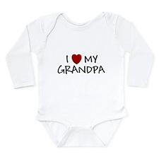 I LOVE MY GRANDPA SHIRT BABY Body Suit