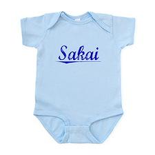 Sakai, Blue, Aged Infant Bodysuit