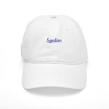 Sanders, Blue, Aged Baseball Cap