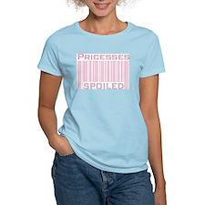 Princesses Spoiled Women's Pink T-Shirt