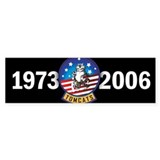 Tomcat Years Bumper Bumper Sticker