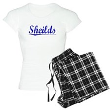 Sheilds, Blue, Aged Pajamas