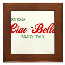 Ciao Bella VENEZIA Framed Tile