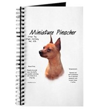 Red Miniature Pinscher Journal