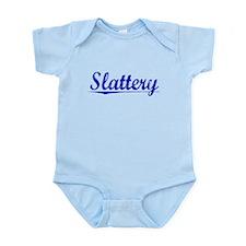 Slattery, Blue, Aged Onesie