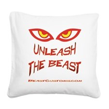 Unleash Square Canvas Pillow