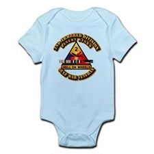 Army - DS - 2nd AR Div Infant Bodysuit