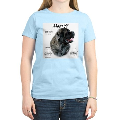 Brindle Fluffy Mastiff Women's Light T-Shirt