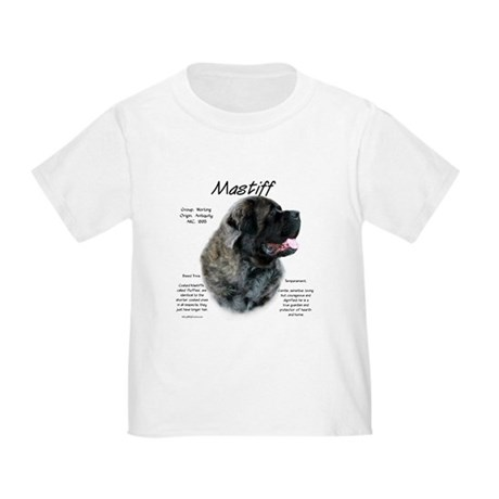 Brindle Fluffy Mastiff Toddler T-Shirt