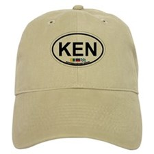 Kennebunk ME - Oval Design. Baseball Cap