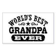 World's Best Grandpa Ever Decal
