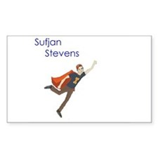 Sufjan Stevens Rectangle Decal