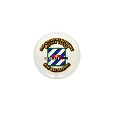 Army - DS - 3rd INF Div Mini Button (10 pack)