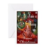 NEW TAINO CHRISTMAS CARD 2 Greeting Card