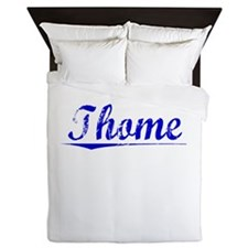 Thome, Blue, Aged Queen Duvet
