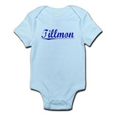 Tillmon, Blue, Aged Infant Bodysuit