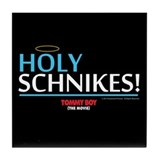 Holy Schnikes Tile Coaster