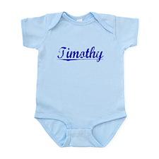 Timothy, Blue, Aged Onesie