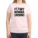 I Love My Nonna and Nonno T-Shirt