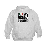 I Love My Nonna and Nonno Hoodie