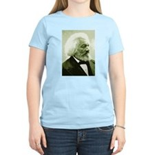 "Frederick Douglass ""Agitate!"" Women's Pink T-Shirt"