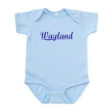 Wayland, Blue, Aged Infant Bodysuit