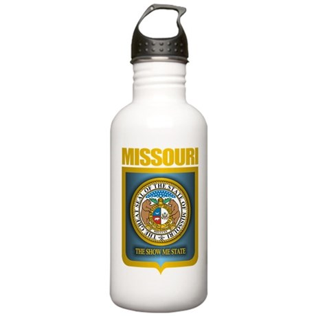 Missouri Gold Label Stainless Water Bottle 1.0L