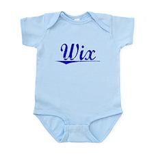 Wix, Blue, Aged Infant Bodysuit