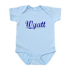 Wyatt, Blue, Aged Infant Bodysuit
