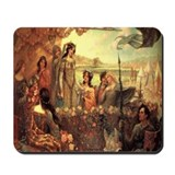 Lancelot and Guinevere Mousepad