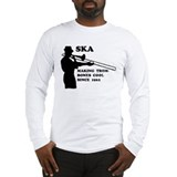 Ska Trombone Long Sleeve T-Shirt