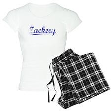 Zackery, Blue, Aged Pajamas