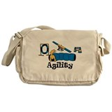 Agility Dog Messenger Bag