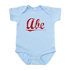 Abe, Vintage Red Infant Bodysuit