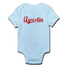 Agustin, Vintage Red Infant Bodysuit