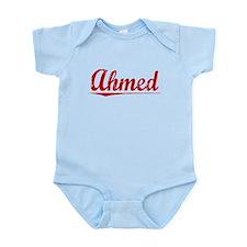 Ahmed, Vintage Red Infant Bodysuit
