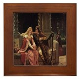 Tristan and Isolde Framed Tile
