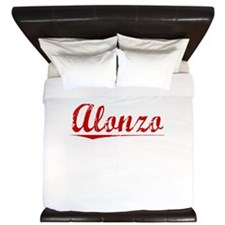 Alonzo, Vintage Red King Duvet